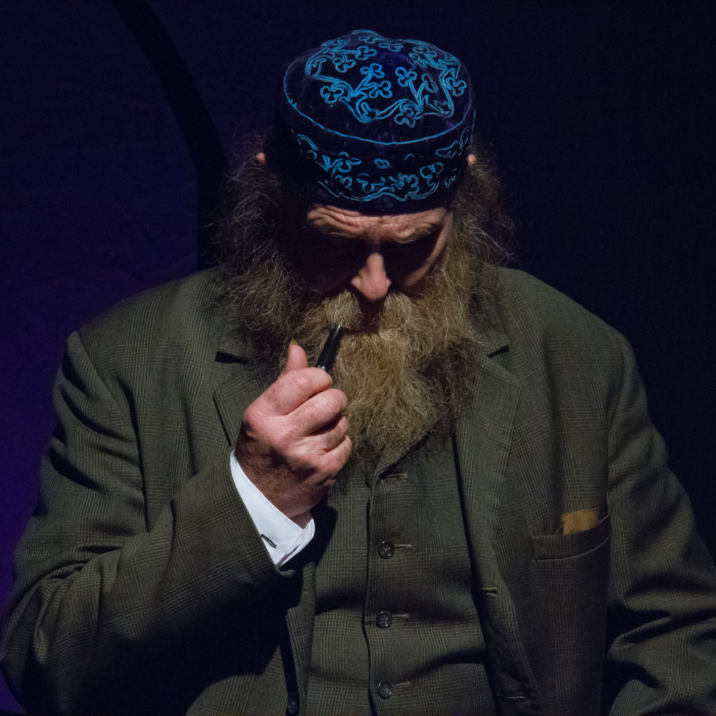Laurie's first role as the Grandfather in Juliet Forster's production of  More Tales From Kafka