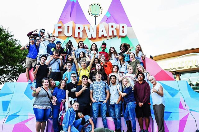 Ain't no party like a Holy Ghost party.  @forwardcon #forwardcon #Jesus #holyspirit #God #bible #squad #thetribe