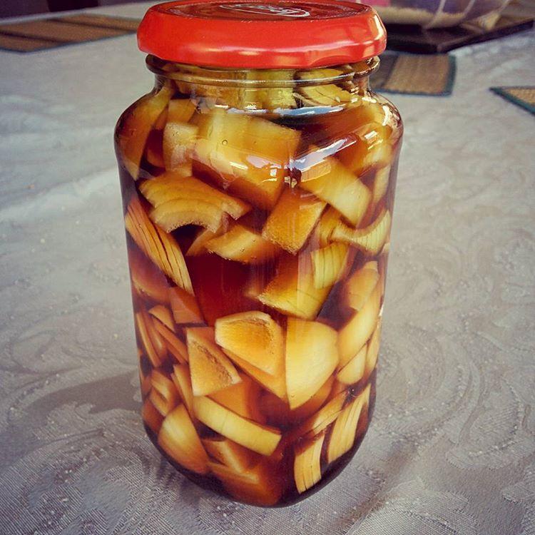 Korean Pickled Onion