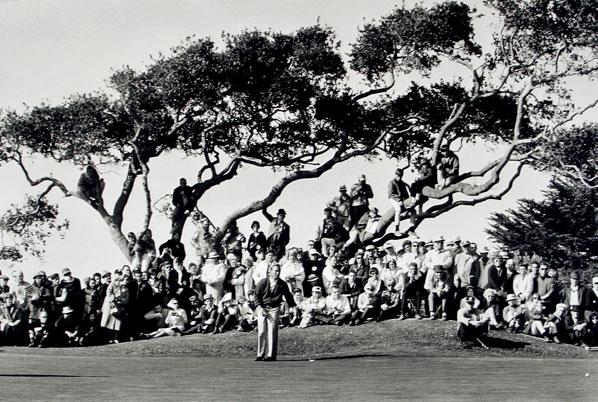 Walter Iooss  Arnold Palmer #2 The Olympic Club, San Francisco, CA 1966 U.S. Open   gelatin silver print