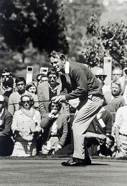 Arnold Palmer #4, The Olympic Club, San Francisco, CA, 1966 U.S. Open