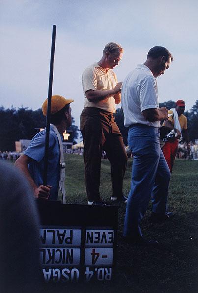 Arnie & Jack #2 Baltusrol CC, Springfield, NJ 1967 U.S. Open