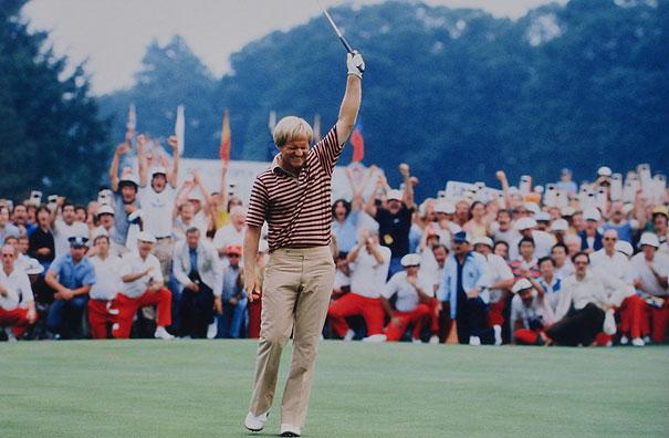 Jack Nicklaus Baltusrol GC, Springfield, NJ 1980 U.S. Open