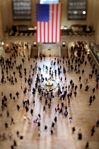 Vincent Laforet  Grand Central Station  New York City • 2007 26 x 38 inches (framed) 24 x 36 inches (unframed)
