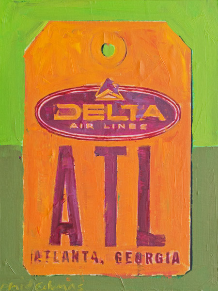 ATL<br>mixed media on panel<br>17 x 13 inches