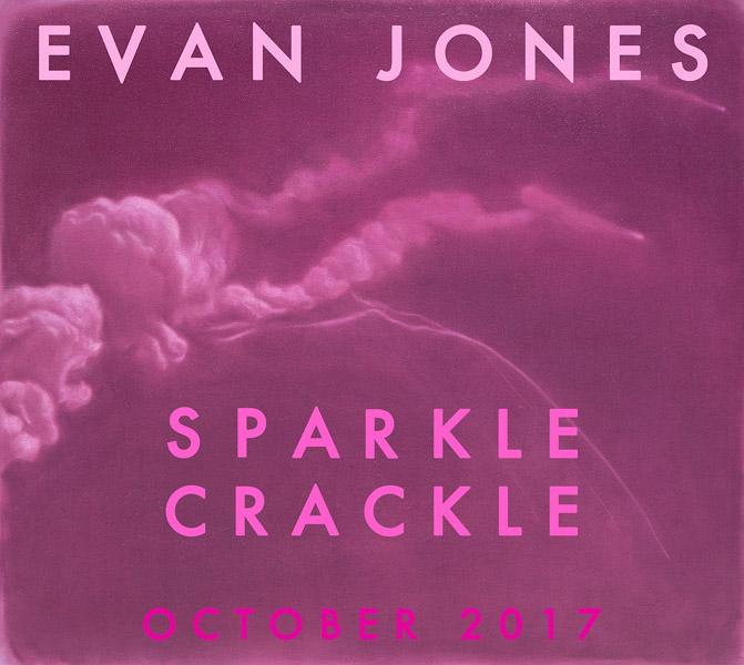 EVAN JONESSparkle Crackle - OCTOBER 5 - 30, 2017Opening ReceptionThursday, October 5, 20176 - 8:30 p.m.View Works