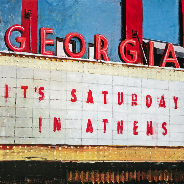 It's Saturday In Athens