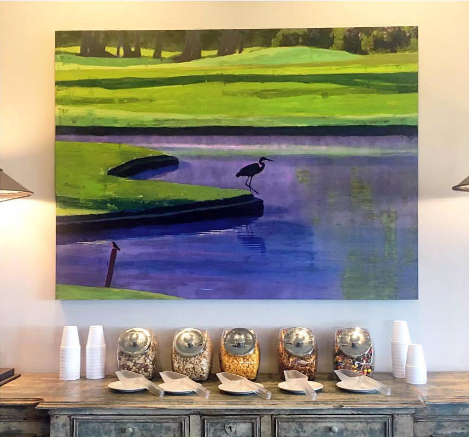 Plaid Columns Ansley Golf Club The Settindown Clubhouse Roswell, GA