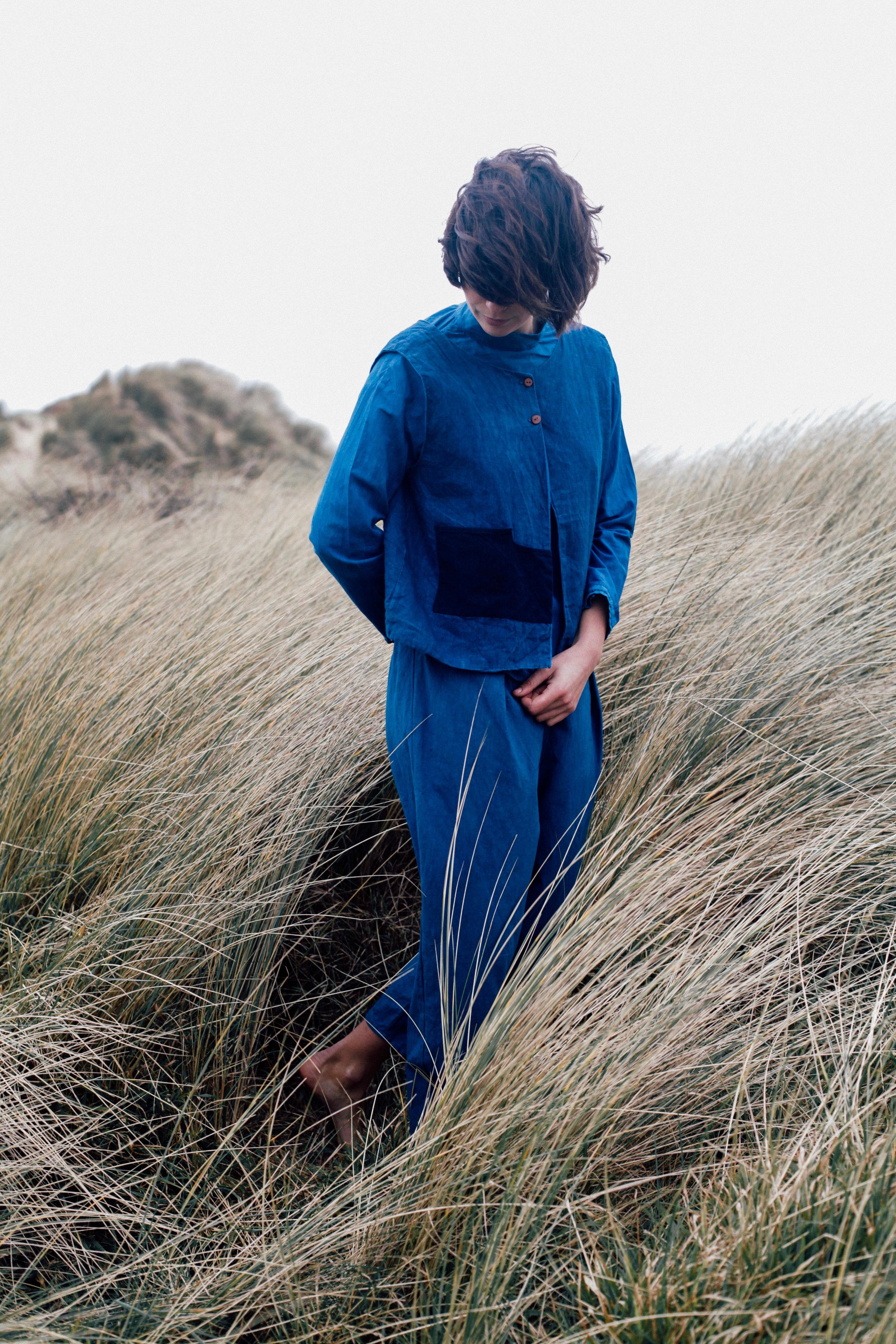 sarah johnson cabbage blue indigo clothing cast cornwall folklore 9