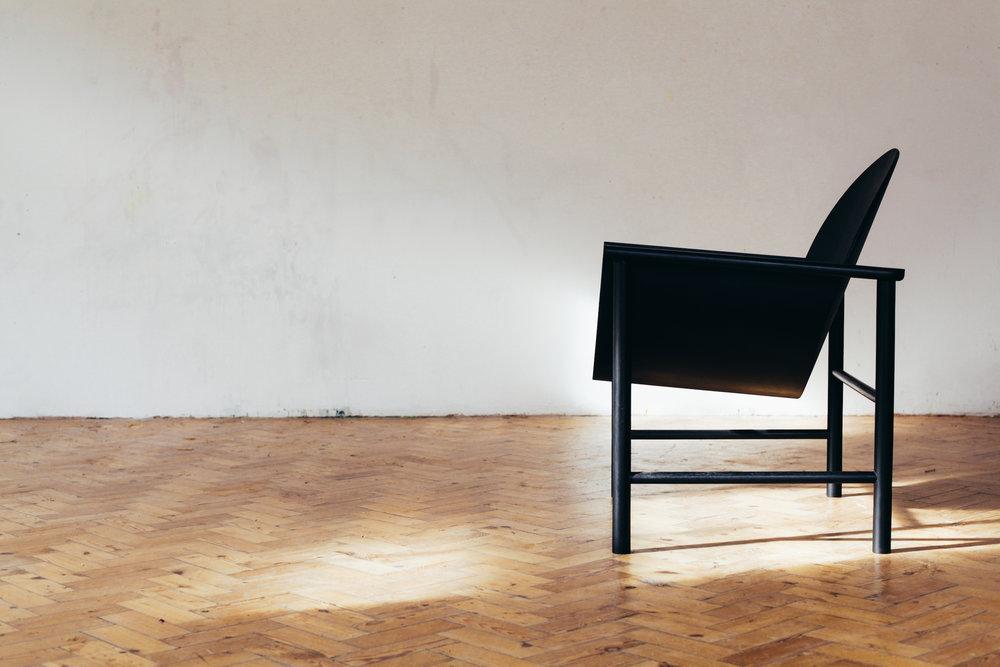 Lunar chair upholstry Felix McCormach side .jpgUpholsery for Felix Mccormach Lunar Chair side