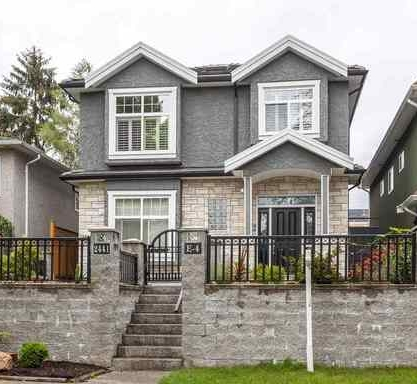 A typical Vancouver house