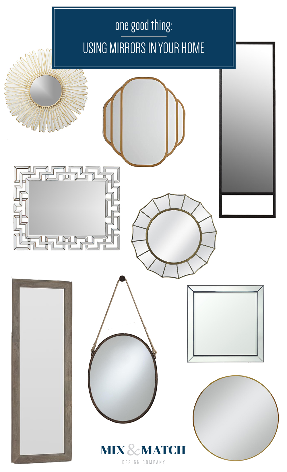 using mirrors in your home