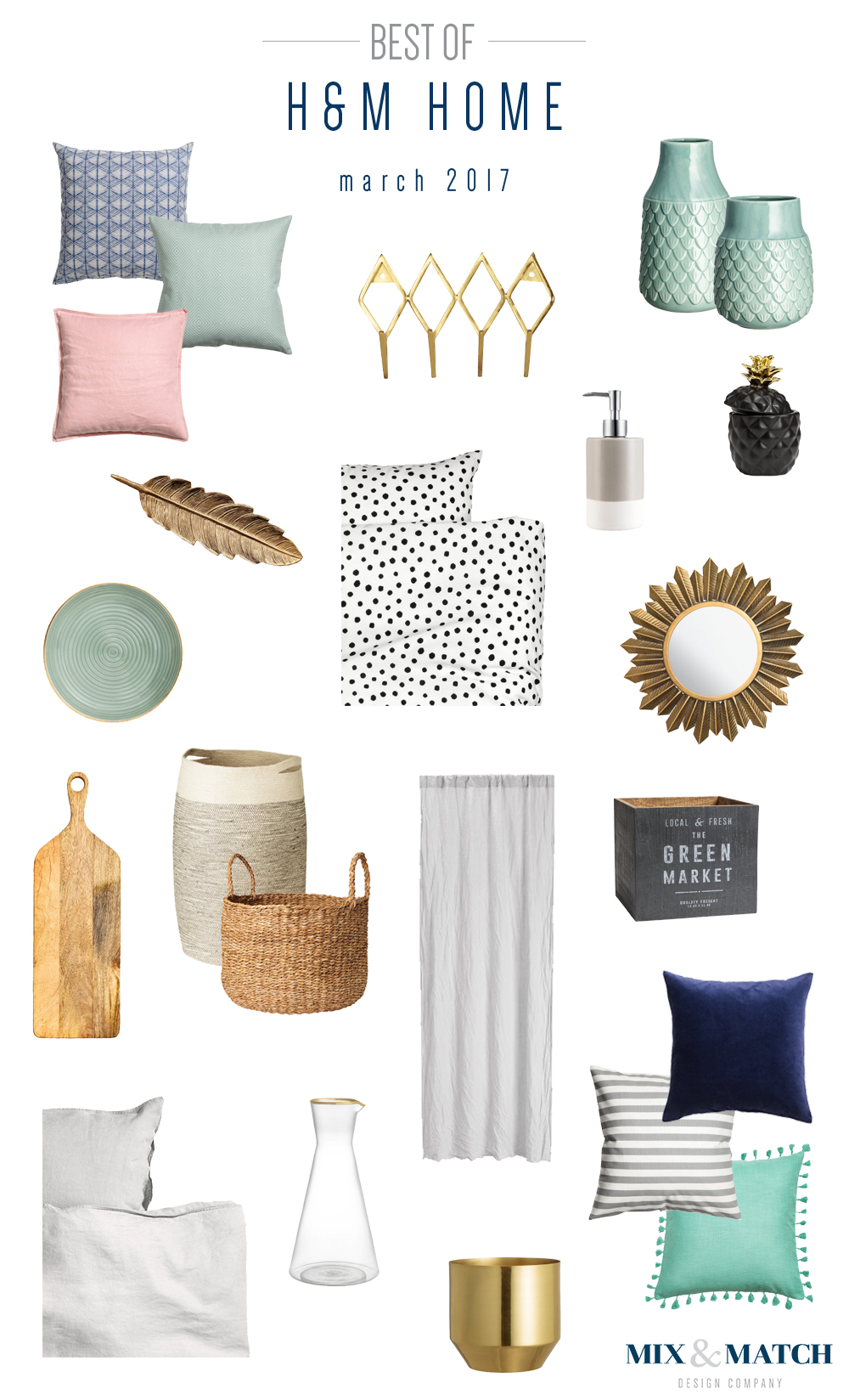 Shop the very best (affordable!) products from H&M home - curated by an interior designer!