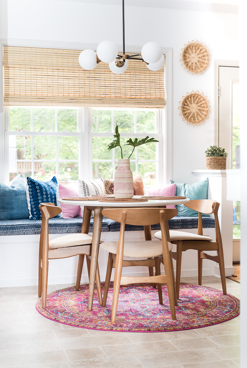 Place of My Taste's cozy and comfortable breakfast nook.