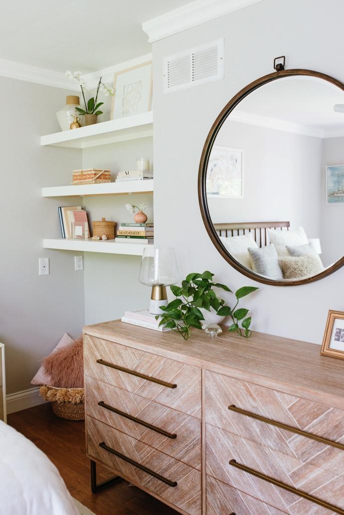 Glitter Guide: Caitlin's Master Bedroom Makeover.