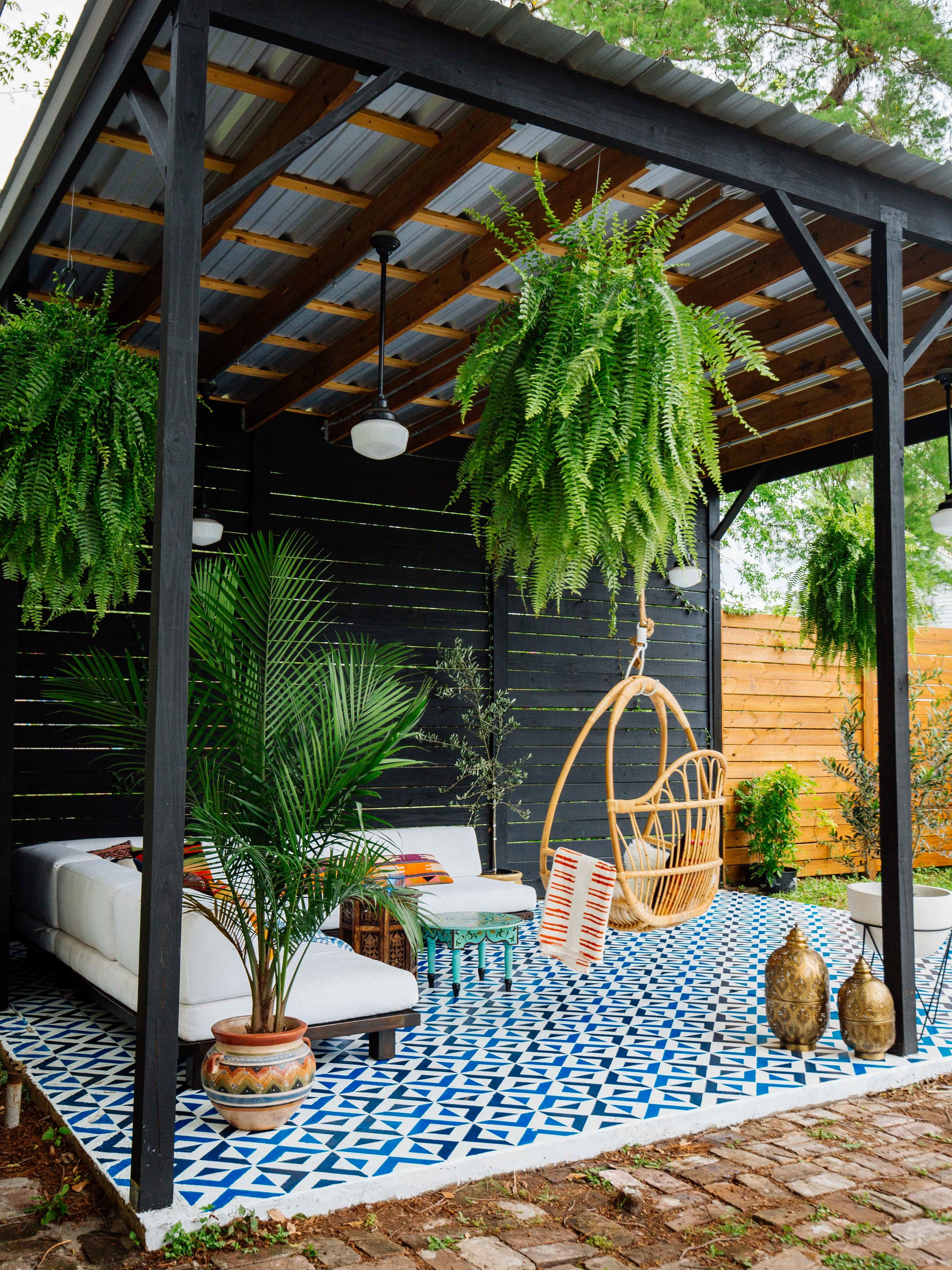 Old Brand New's Patio Makeover
