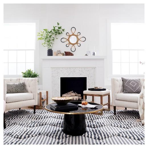 Nate Berkus for Target Furniture Collection. // living room furniture, modern global furniture