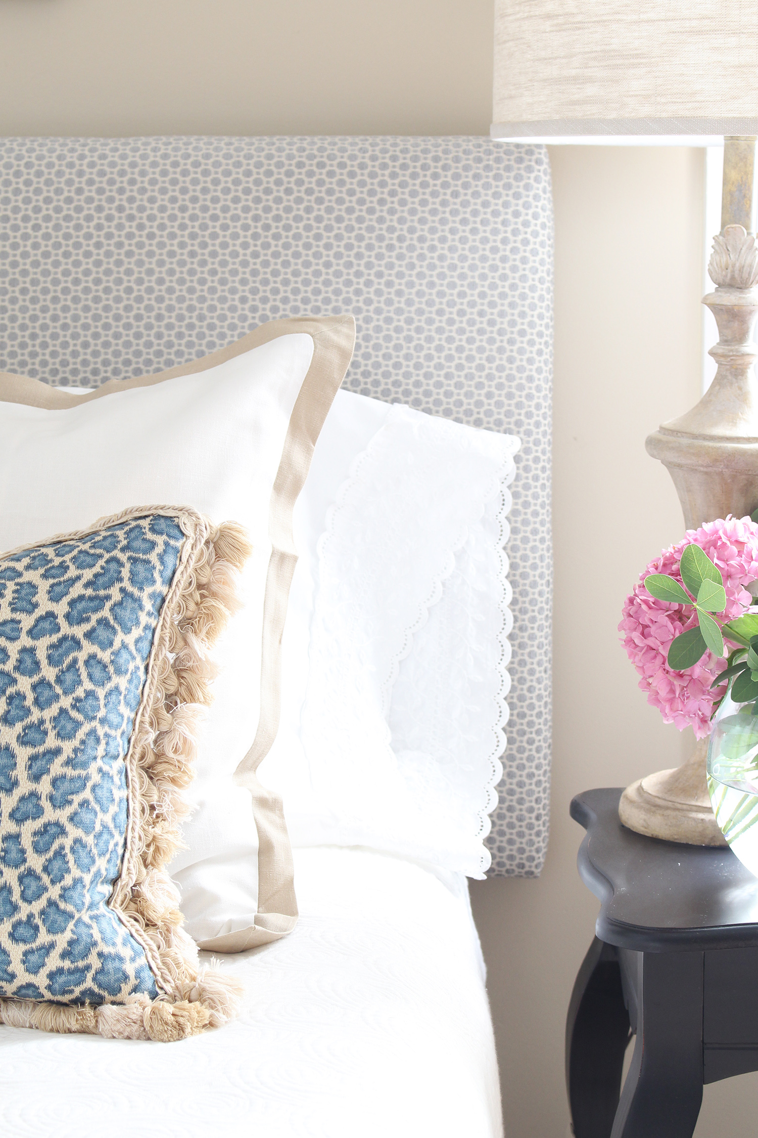 A traditional style bedroom gets a budget-friendly makeover.