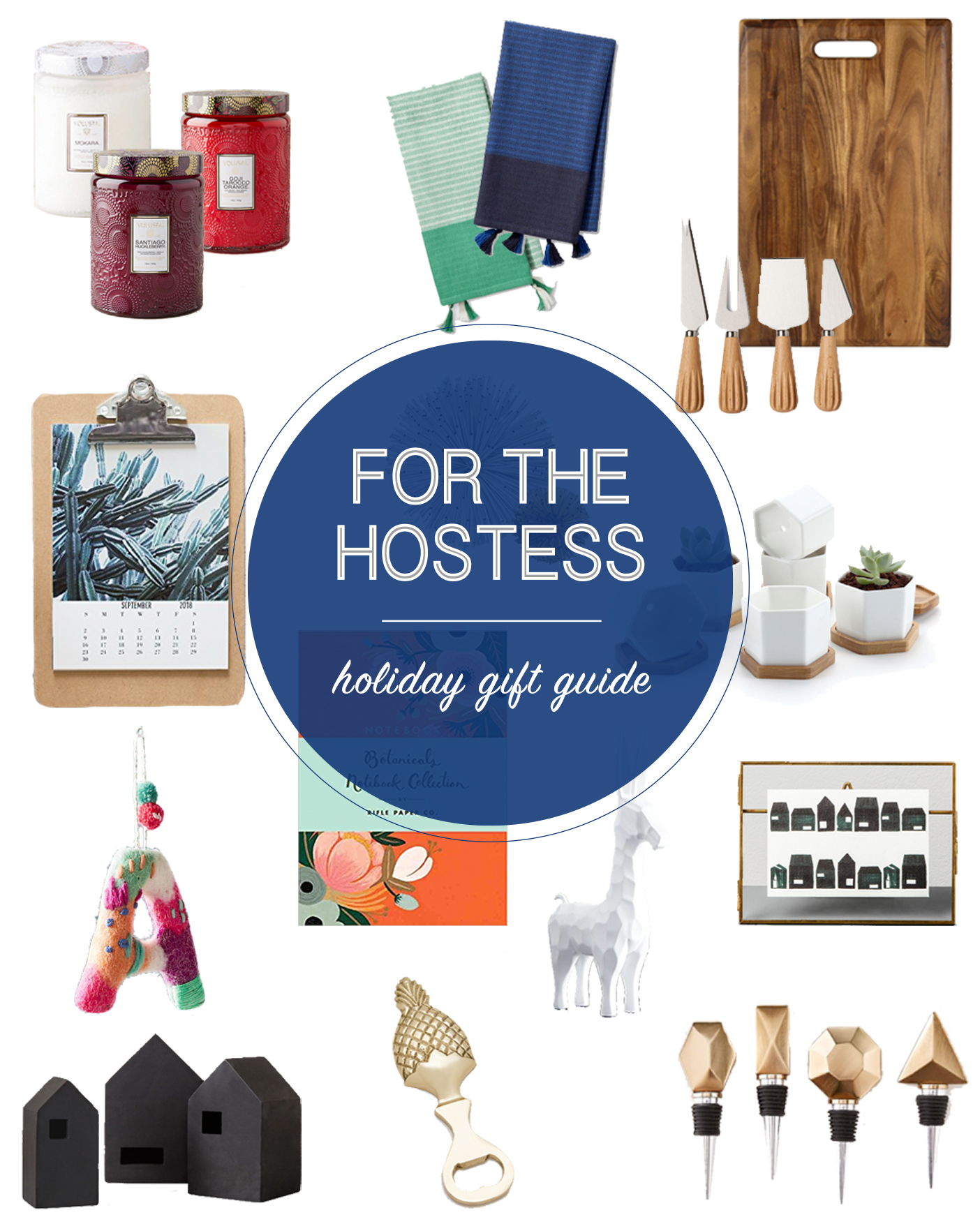 Don't show up empty-handed at your next holiday party! A pretty and thoughtful hostess gift is a great way of saying thank you for the shindig. Find these holiday gifts on the Mix & Match Design Company blog.