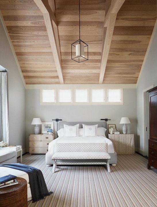 Can you have different nightstands in a bedroom? Yes! This gray bedroom proves it. See how to do it well in this blog post from Mix & Match Design Company.
