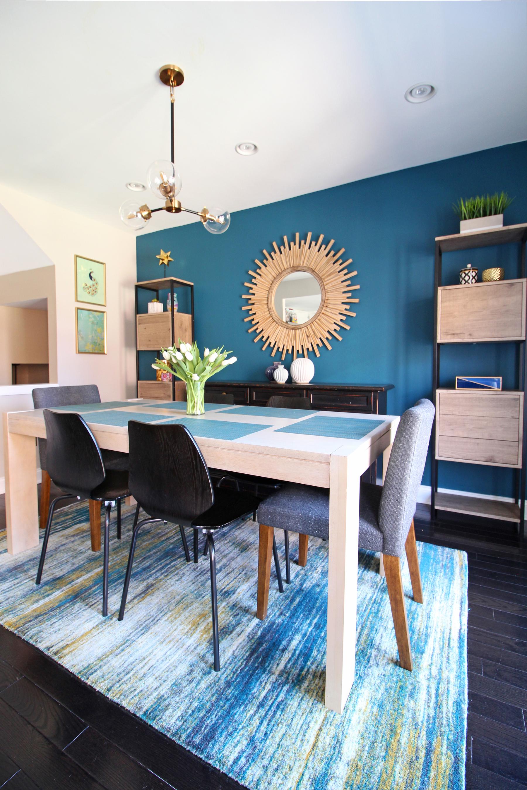 Queen Village Cozy Modern Dining Room Reveal E Design