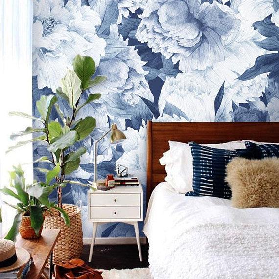 blue-floral-wallpaper-mid-century-bedroom.jpg