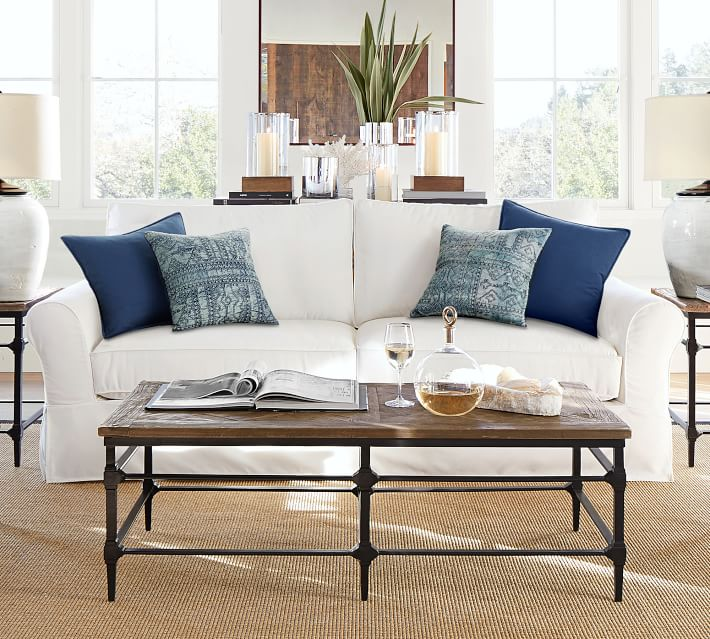 Buying a sofa soon? There's a lot to think about! Here's a guide to helping you think through how to find the perfect couch for your home. // white slipcovered sofa, how to pick a sofa, shopping for a sofa, sofa buying tips.