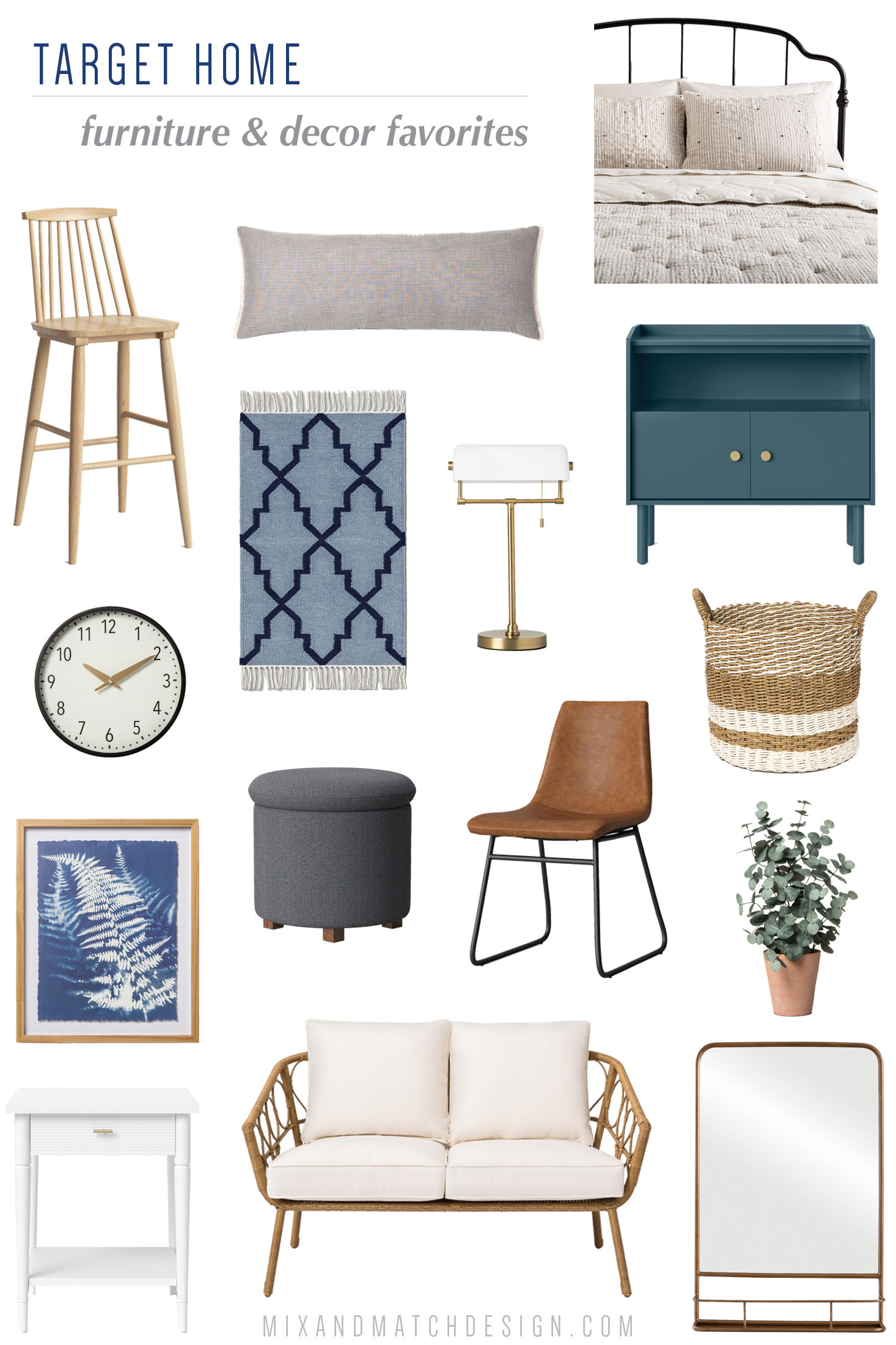 Taking a look back at the top 10 blog posts for Mix & Match Design Company of 2018! Come see what was popular in interior decorating, design tips, e-design projects, and more. One of the categories that made the list? The What Caught My Eye series where I share my favorite finds from retailers with you!