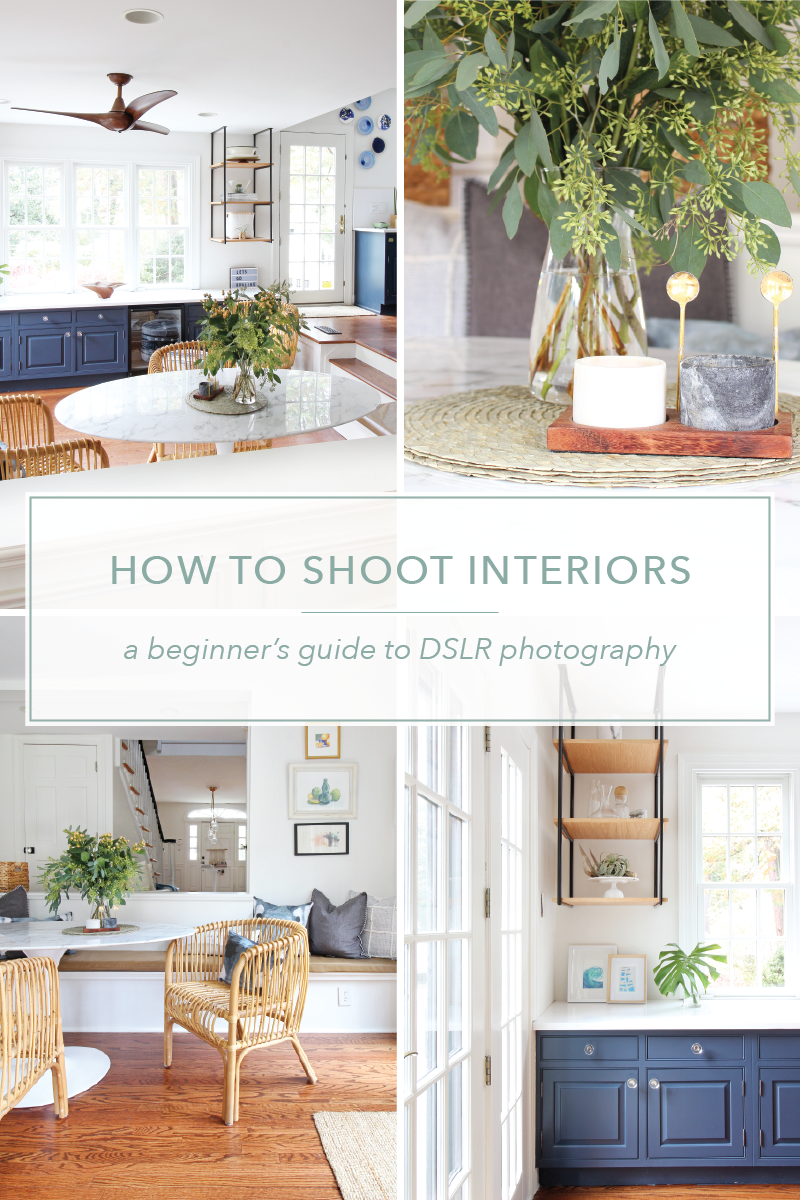 Want to learn how to take photos of interiors with a DSLR camera? I've got you covered! Come find out how in this comprehensive online course from Mix & Match Education. How To Shoot Interiors will teach you everything you need to know to get up and running - from the technical skills to editing in Photoshop - and by the end, you'll be ready to take start snapping gorgeous photos of client projects, your own home, and other photo-worthy spaces. Capture the images you want when you want, without having to hire a pro.