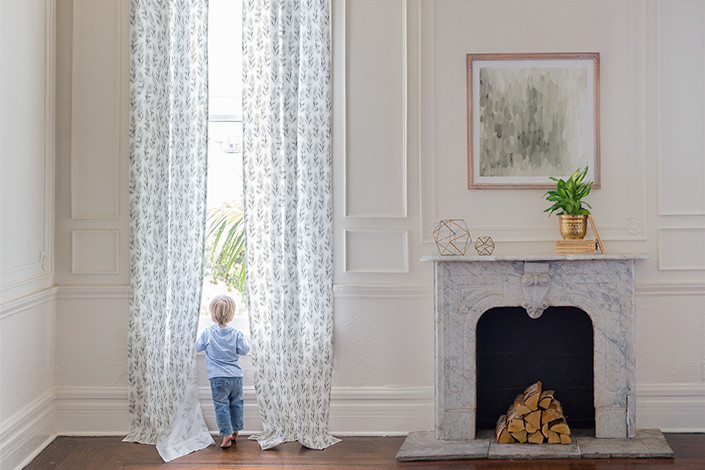"""Looking for some unique curtains for the windows in your home? Minted has a whole collection designed by independent artists! They come in both cotton and linen options, and six different lengths. They even have extra long curtain lengths - 108"""", 120"""" and 132"""". Finding affordable, ready-made, long curtains is almost unheard of, and Minted has them.   See more on the Mix & Match Design Company Blog."""