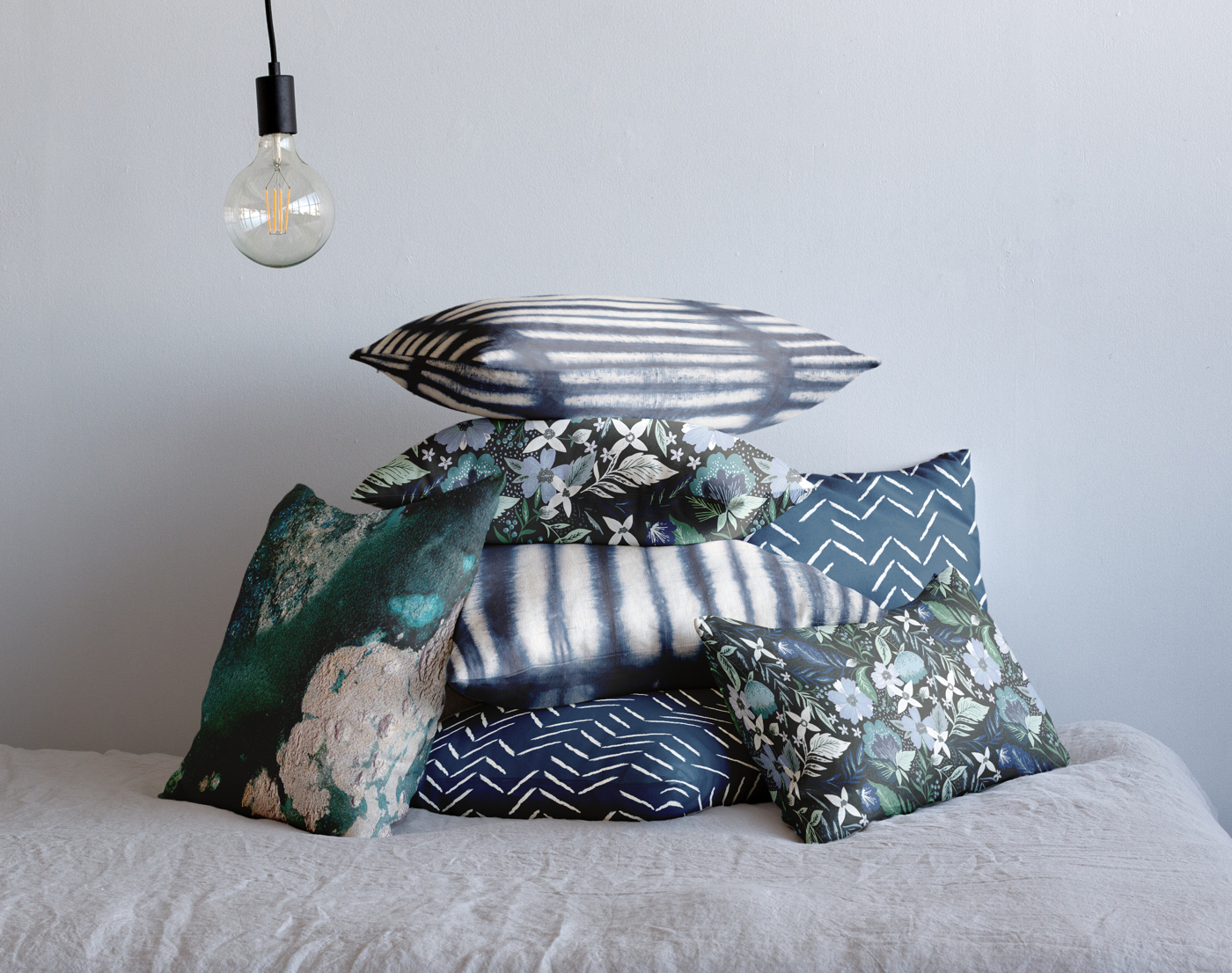 Looking for some unique pillows for your home? Minted has a whole collection designed by independent artists! These are perfect for decorating your living room or bedroom. See more on the Mix & Match Design Company Blog.