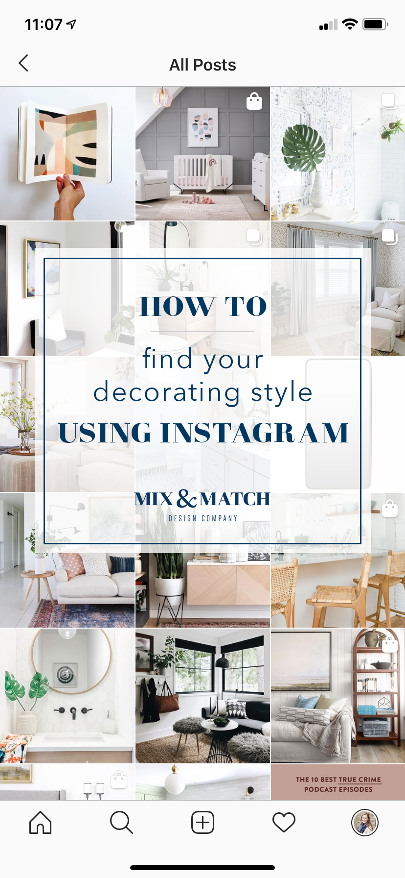 How To Find Your Decorating Style Using Instagram