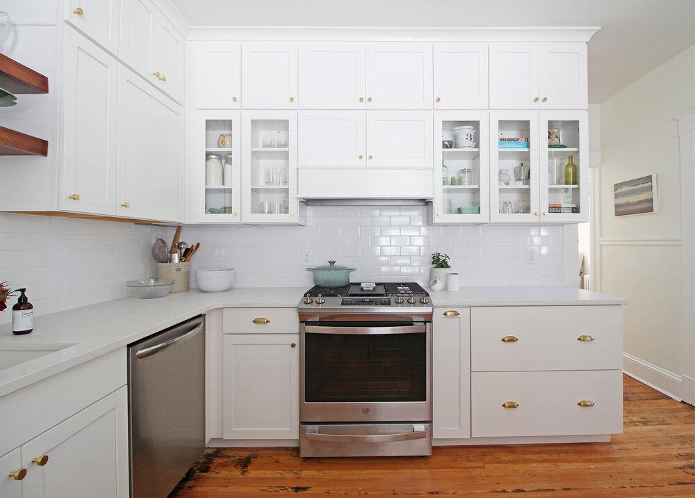 Bellevue Bungalow Kitchen Before After