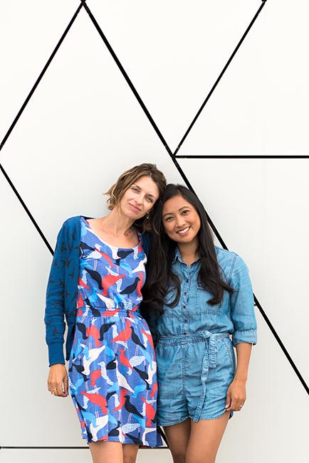 MICHELE (L) & RINA (R)