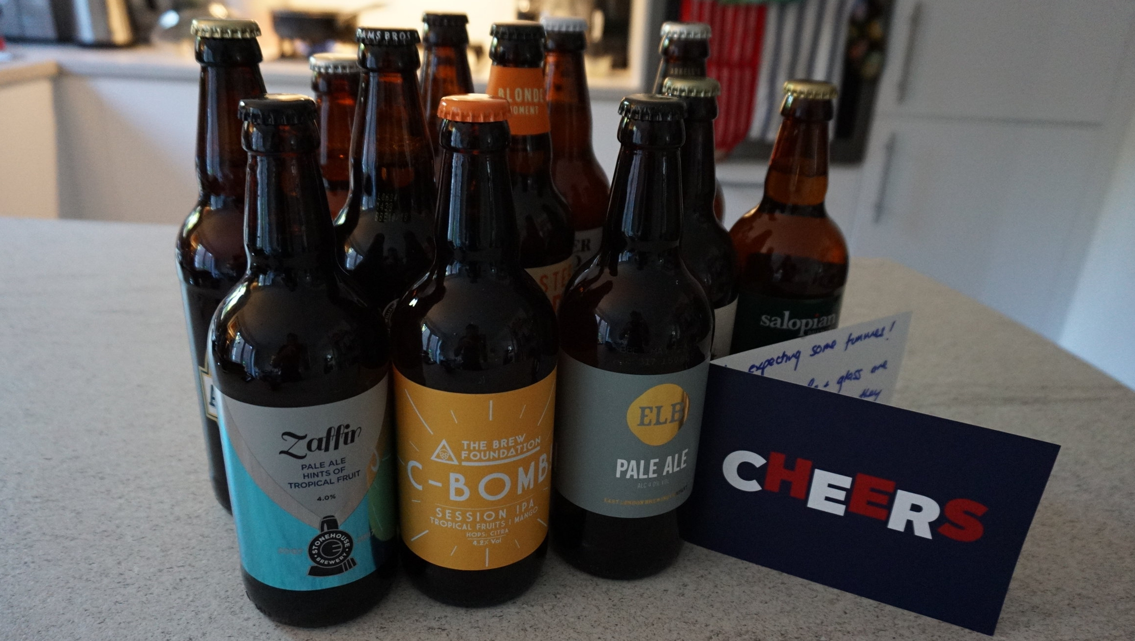 (LINKS BELOW)   CASE OF GOLDEN AND PALE ALES FROM BEST OF BRITISH BEER    NOTONTHEHIGHSTREET.COM: £44.50