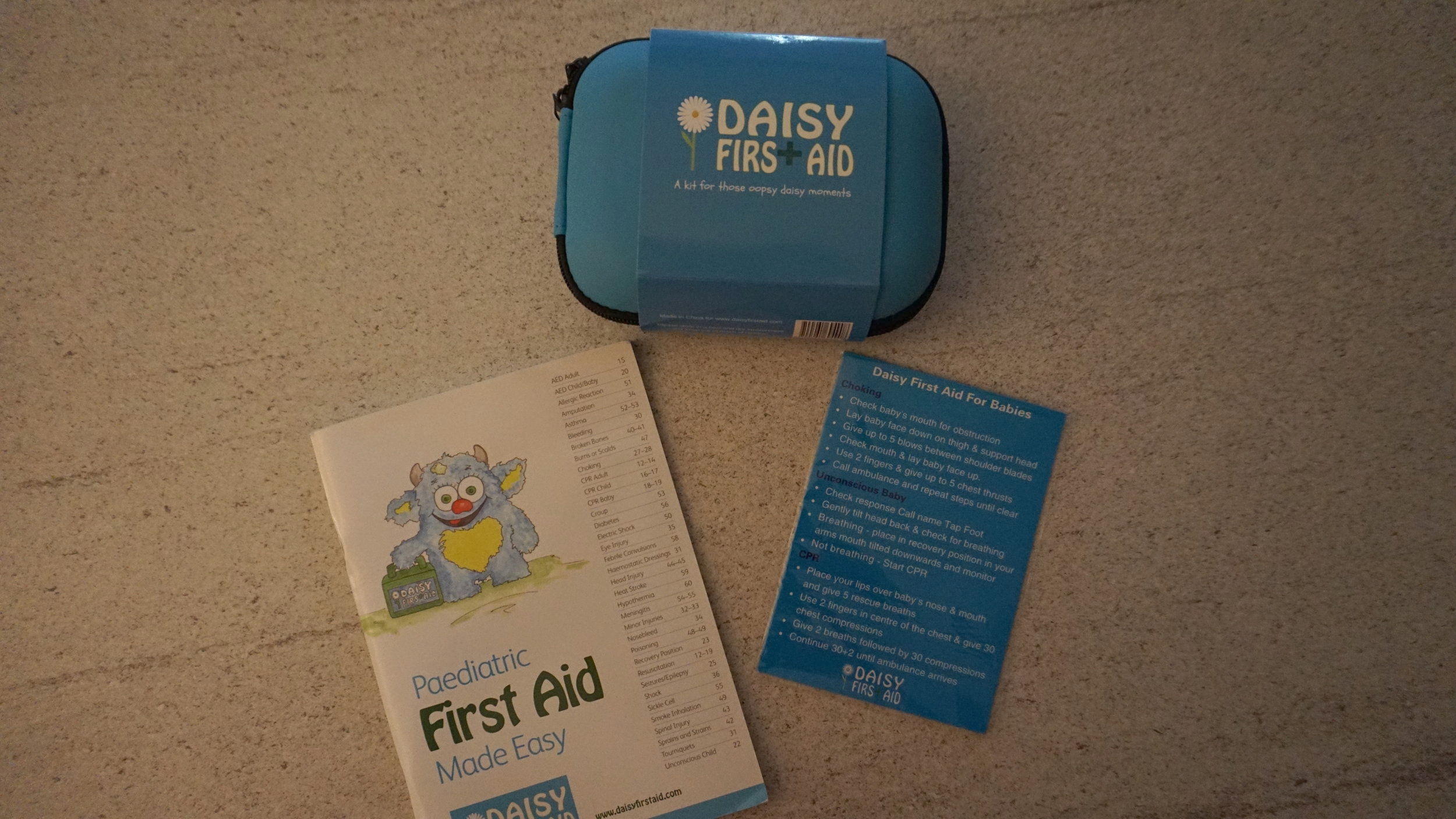 THE DAISY FIRST AID KIT - THE PERFECT SIZE FOR A NAPPY BAG