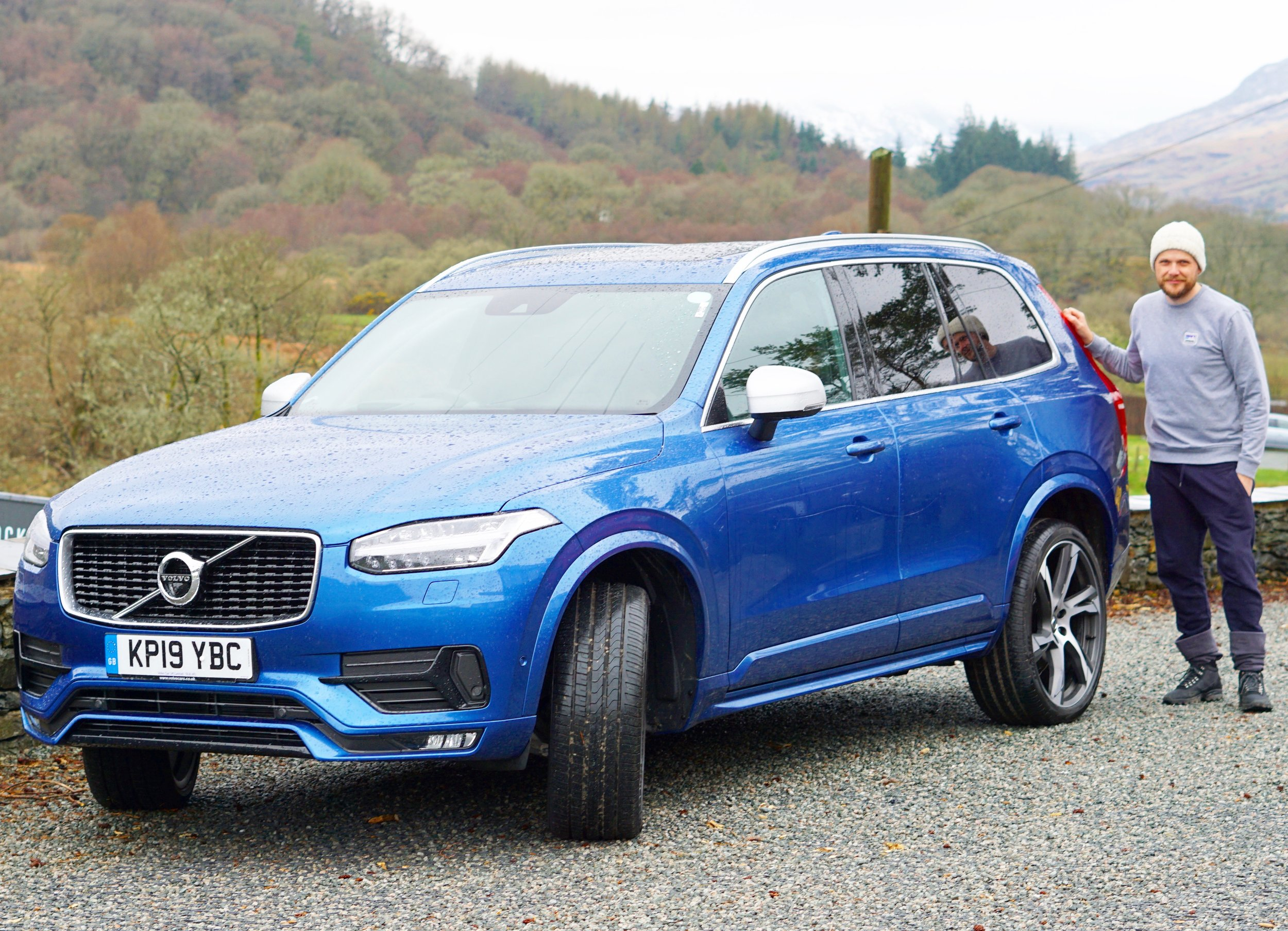 WE WERE KINDLY GIVEN THIS AMAZING VOLVO XC90 FOR OUR TRIP BY VOLVO UK (CLICK PIC TO READ MY REVIEW)
