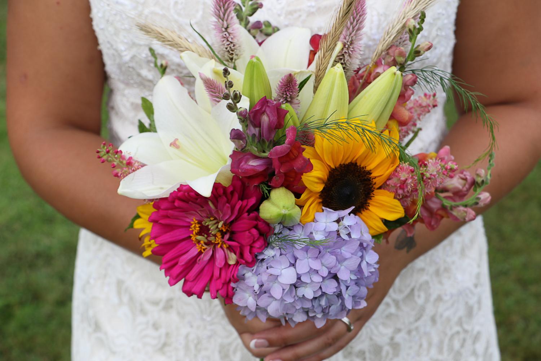 Summer Garden Bridal Bouquet