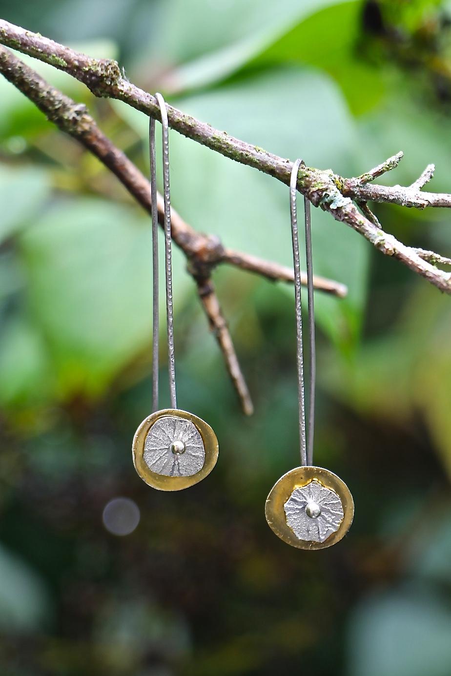 Earrings by Celie Fago