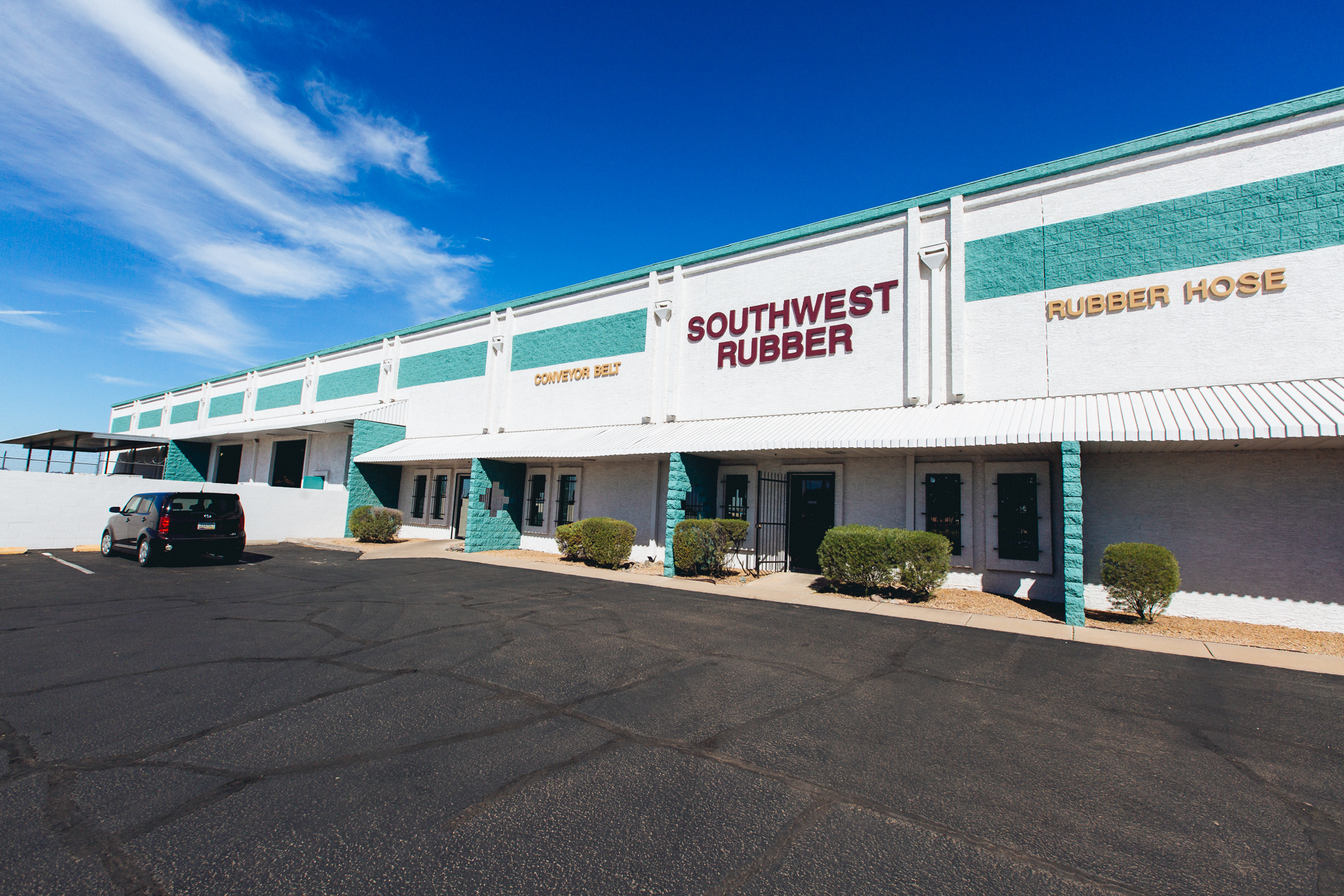 Southwest Rubber building