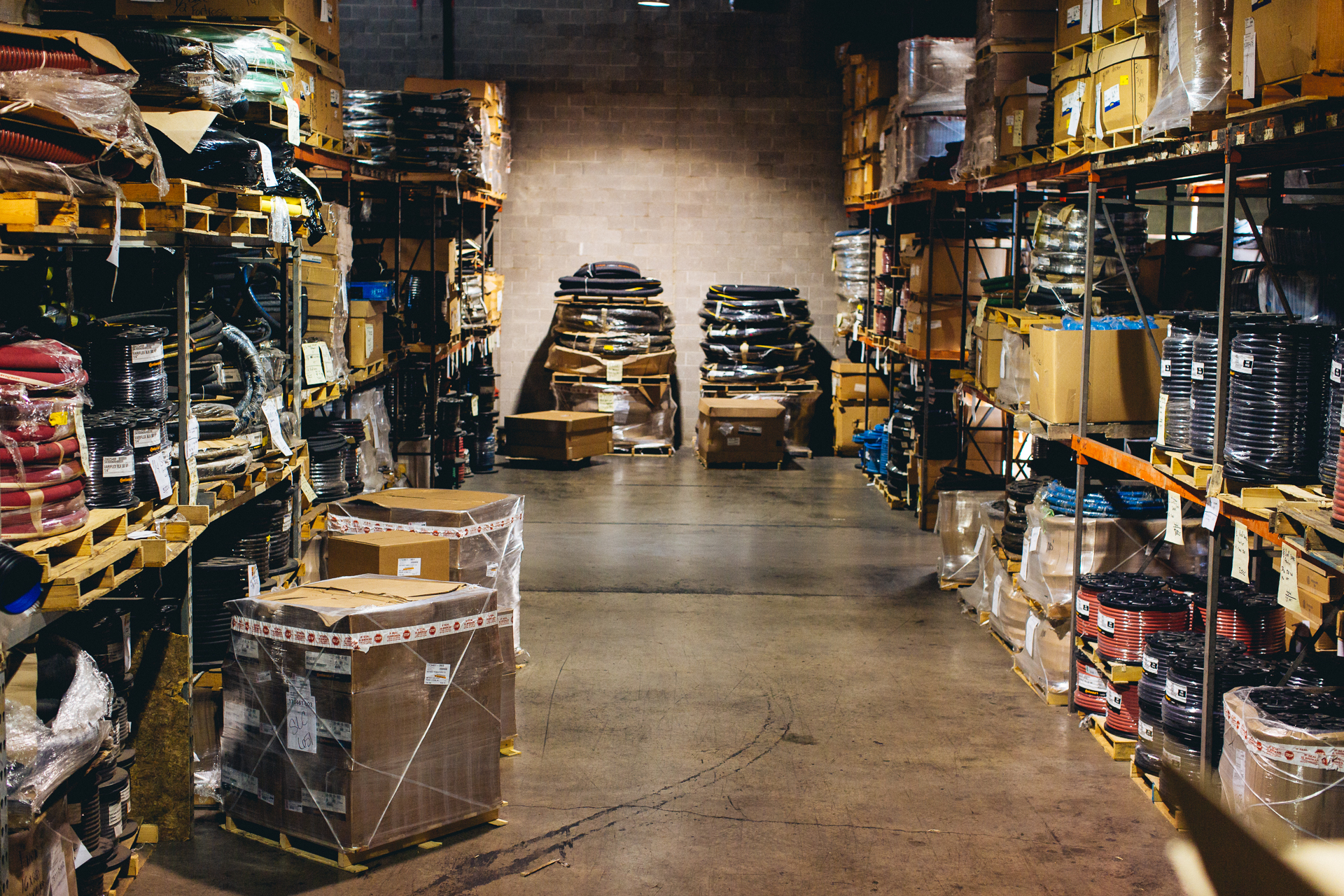 Warehouse stall
