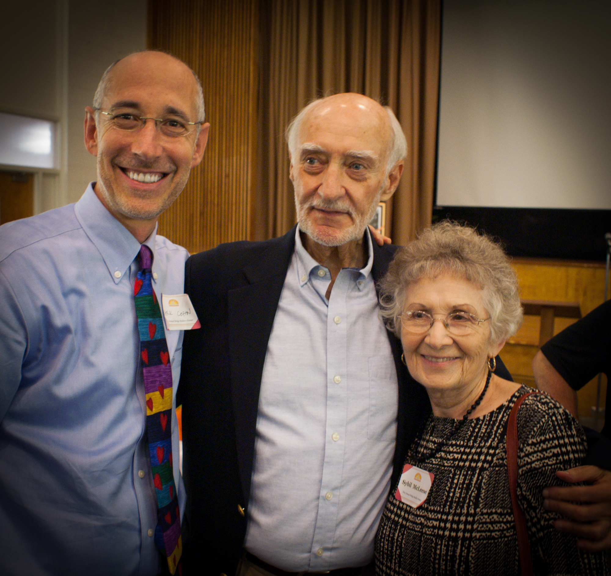 ridge builders - Rabbi mark cohn, jerry, sybil.jpg