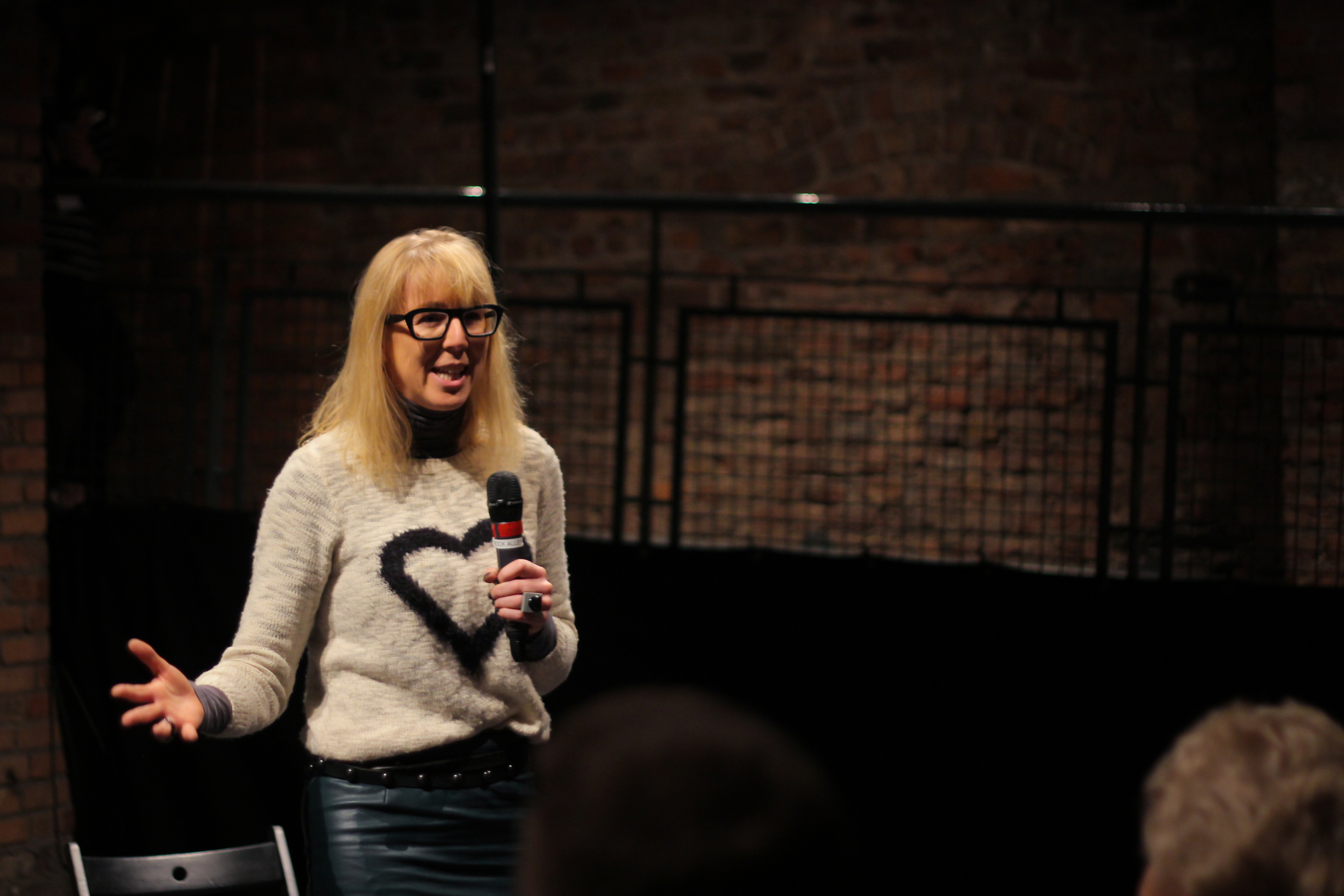 Fellow Caroline Casey speaking at Ashoka Ireland & NYF Dublin's event, 'YES Inclusion' on 30th December 2015