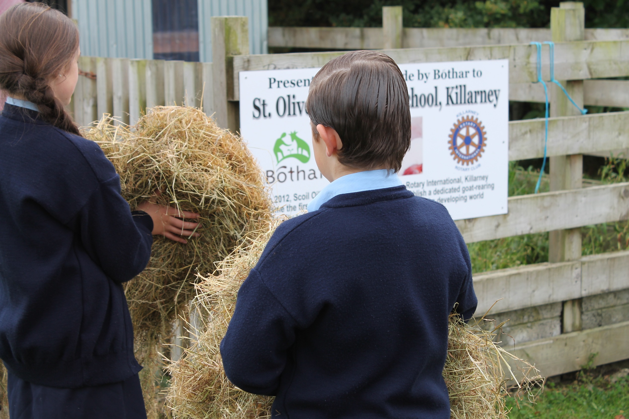 The farm is one of many initiatives to support the local community
