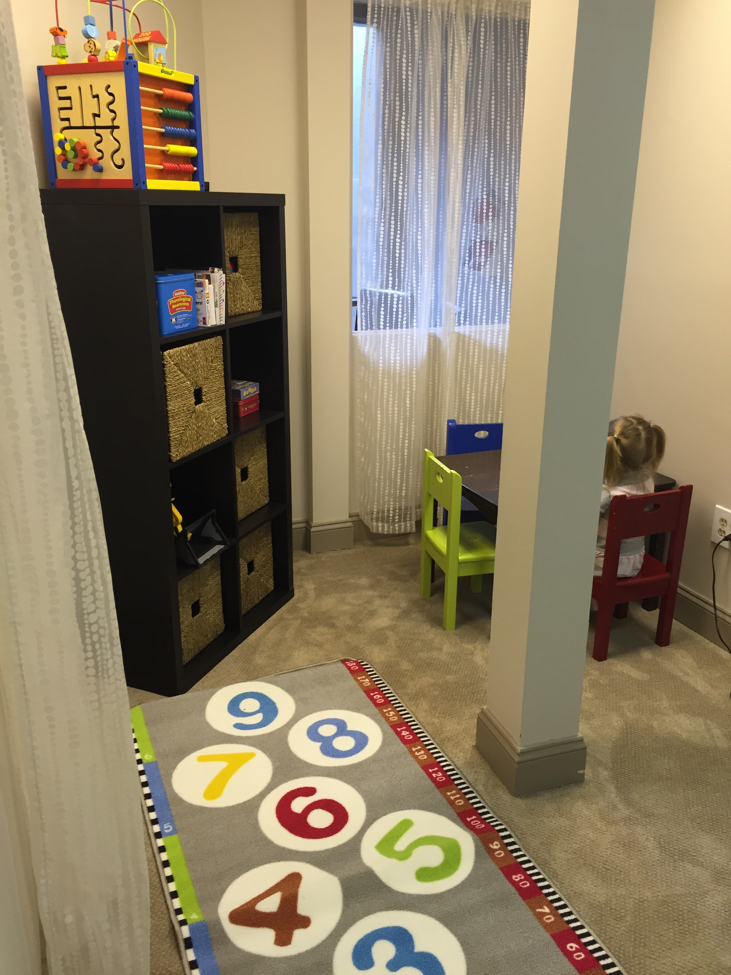 Our children's therapy area