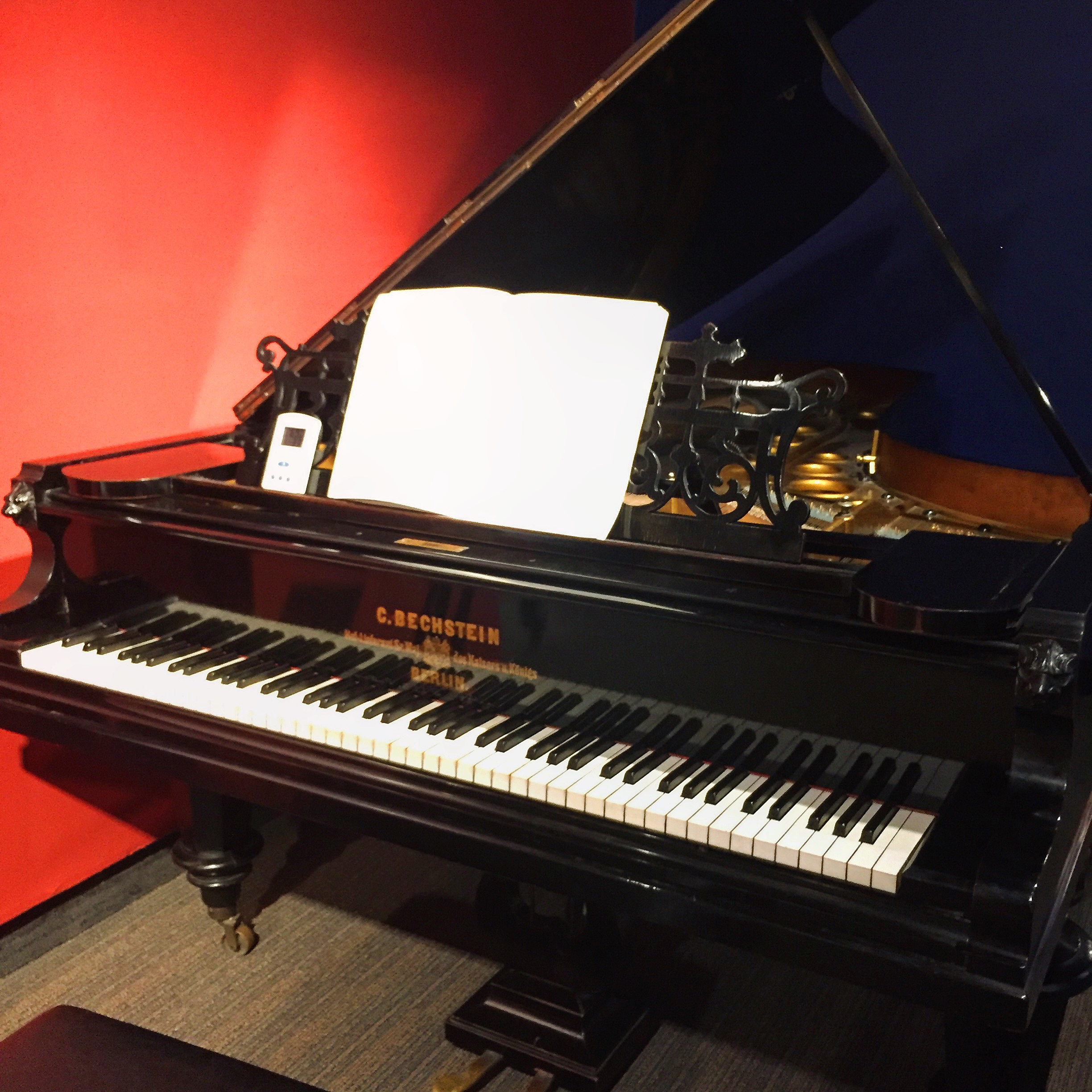 I played my choro on this 1878 Bechstein at the Schubert Club Museum in St. Paul when I visited over the weekend - this piano has also been played by Brahms, Bartok, Liszt, and other famous composers and pianists!