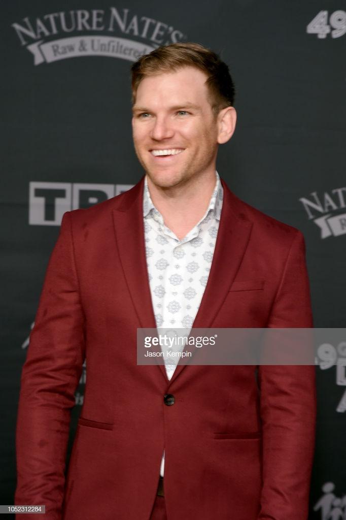 Rick Seibold at the 49th Annual GMA Dove Awards Red Carpet