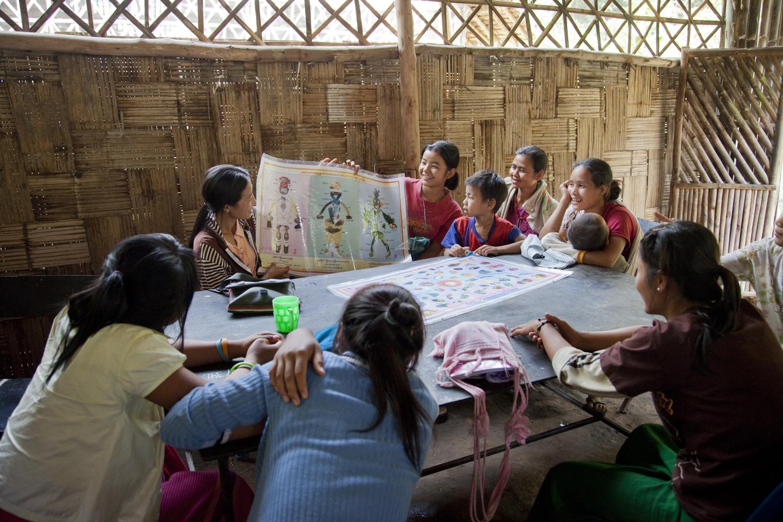 Thailand, Camp #1, Ban Mai Nan Soi