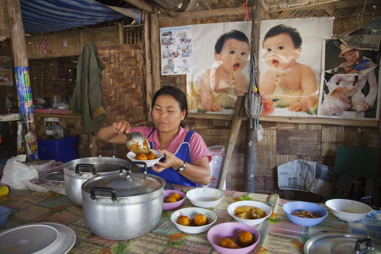 Camp #1 along the Myanmar/Thailand border