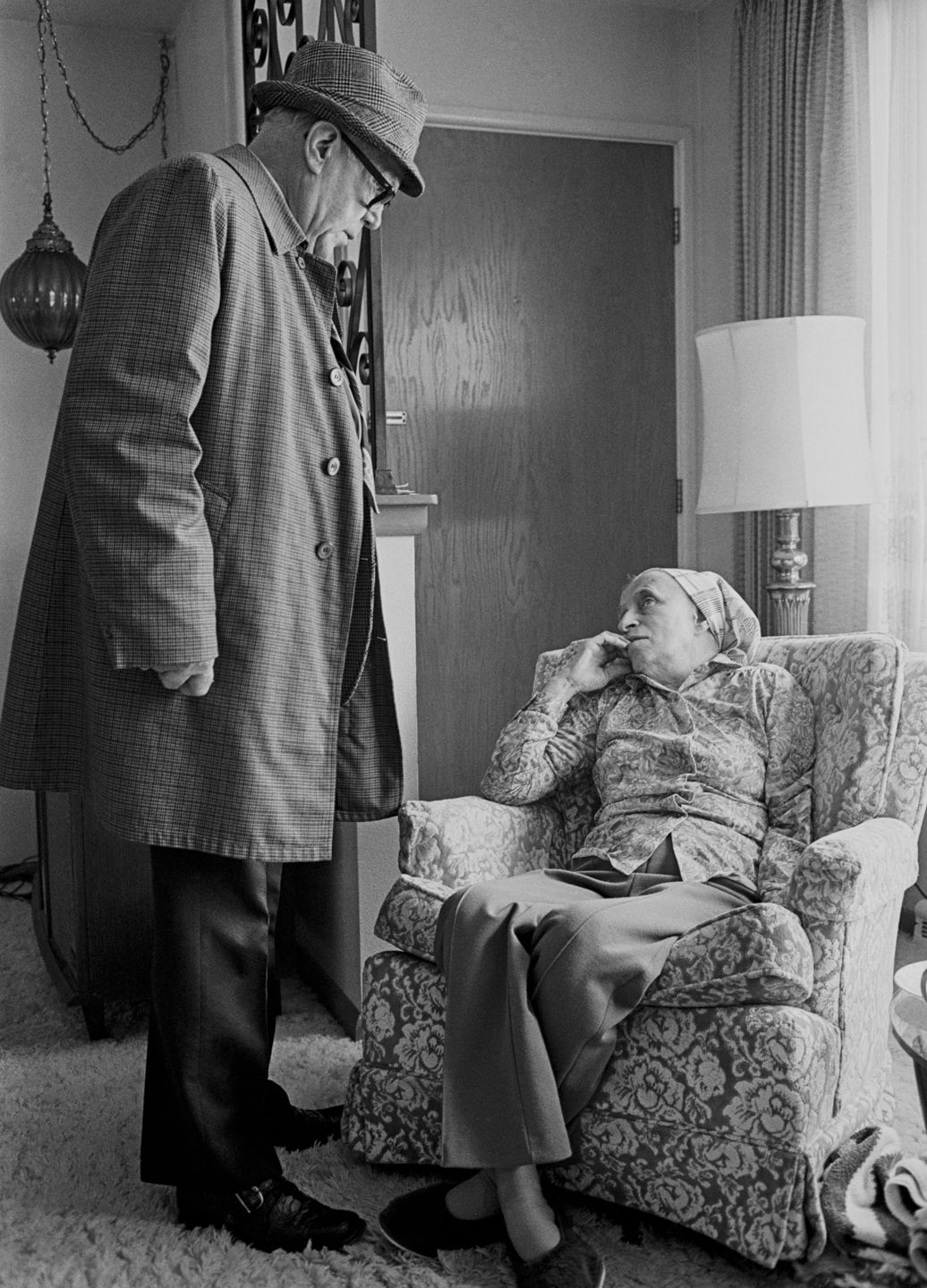 My father would always check in with mom before leaving for his office, a familiar scene when I was home visiting. I like the way she looks at him – with a gaze and knowledge that perhaps transcends the issue at hand.